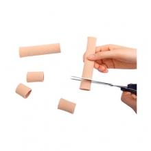Трубочка силиконовая для пальцев стопы с тканевым покрытием